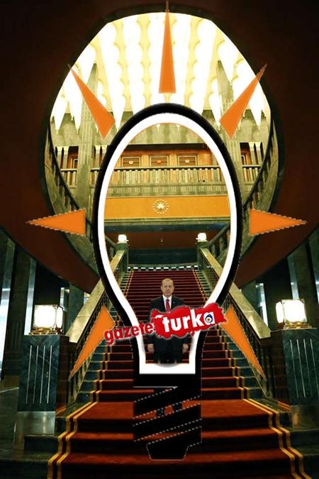AK Saray'daki AK Parti Logosu galerisi resim 1