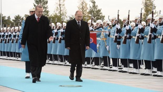 Putin'in Ankara ziyareti galerisi resim 1