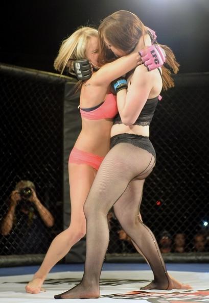 Kızların dövüş sanatı! Lingerie MMA galerisi resim 1