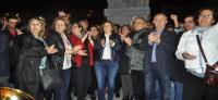 İzmir'de 17 kilometrelik 'laiklik zinciri' oluşturuldu