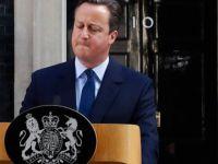 Cameron'dan canlı yayında istifa kararı