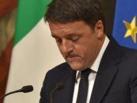 İtalya'da referandumu kaybeden Renzi istifasını açıkladı